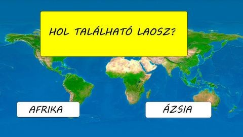 Csak néhány ember tudja pontosan, hogy hol található ez a 23 ország