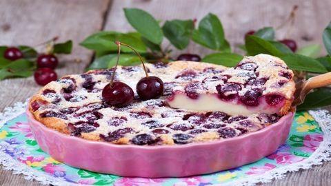 Clafoutis: a francia cseresznyés pite