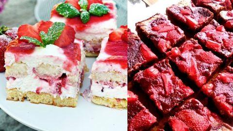 Két szuper epres süti, amit azonnal ki kell próbálnod