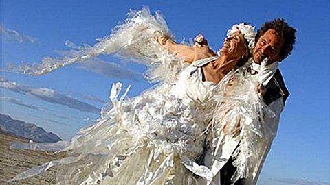 Fura esküvői ruhák, amikről nem tudod levenni a szemed
