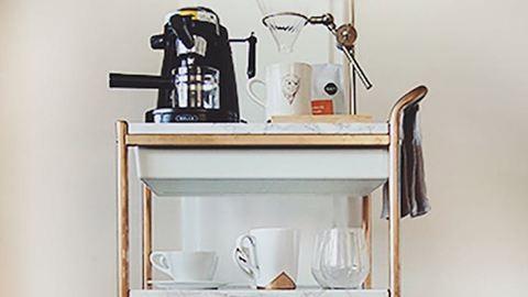 A kávépult az új minibár