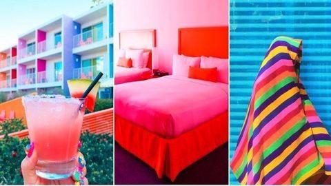 Ebben a szivárványos hotelben kizárt, hogy rossz kedved legyen