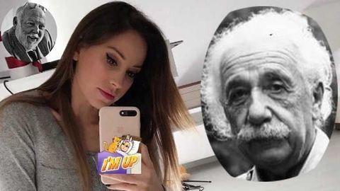 Vajna Tímea csipkében idézi Albert Einsteint