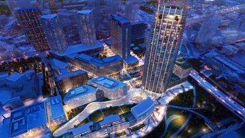 Káprázatos felhőkarcolót építenek Pozsonyban