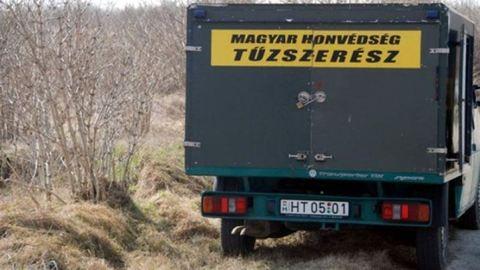 100 kilós bombát találtak a székesfehérvári stadionnál
