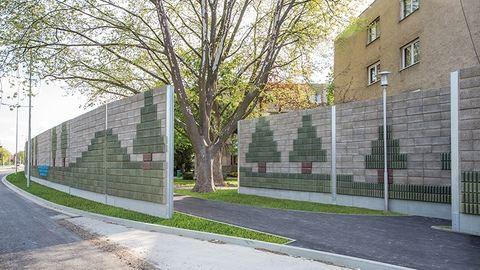 Zajárnyékoló falak a nyugodt, csendes, biztonságos, esztétikus környezetért
