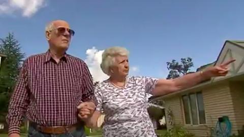 Az idős friss házaspár bizonyítja, hogy sosincs késő megtalálni a szerelmet