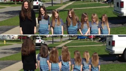 Együtt növesztette haját a 6 testvér, hogy eladományozhassák