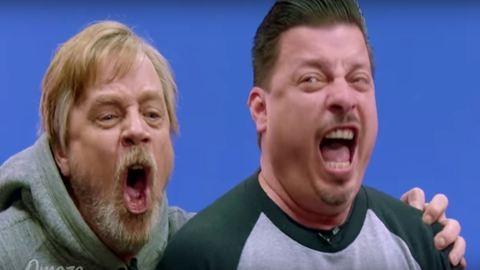 Nézd meg, hogyan lepte meg Mark Hamill a Star Wars-rajongókat!