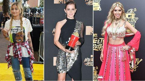 A 2017-es MTV Movie&TV Awards leg-leg-leg ruhái