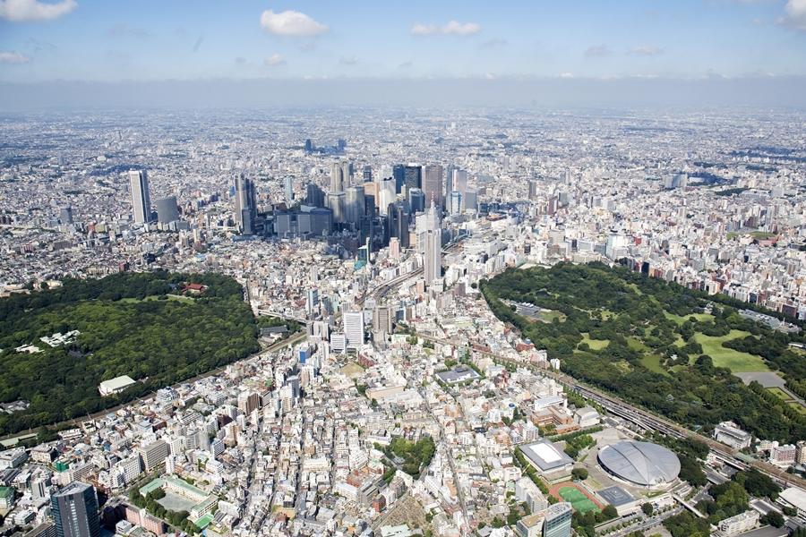Városok madártávlatból - ilyen gyönyörű fentről az élet