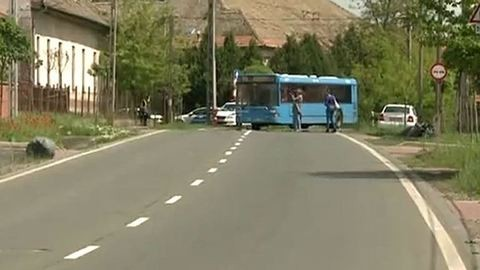 Esküvőjére készült a buszból kizuhant férfi