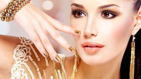 Aranytömbbé változtatja körmeinket az új manikűrtrend