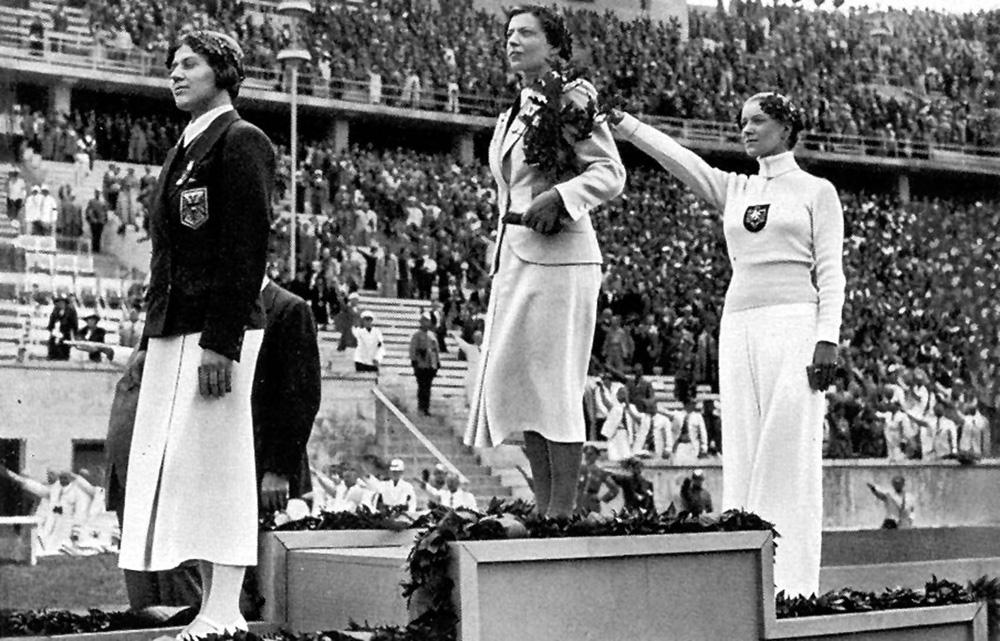 Az 1936. évi berlini olimpia női párbajtőr versenyének győztesei
