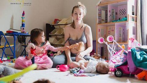 Csak 2 fotó, ami tökéletesen megmutatja, milyen a szülés utáni depresszió valójában