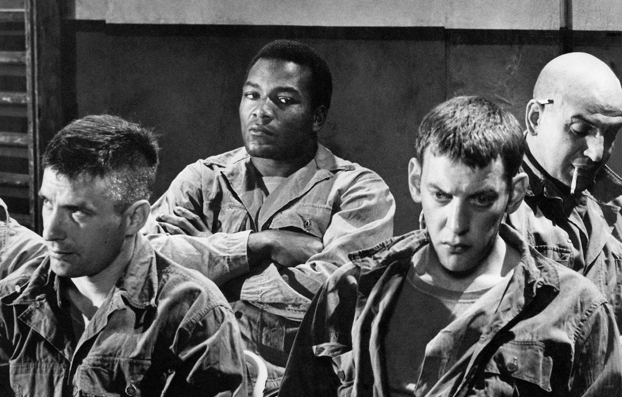 John Cassavetes, Jim Brown, Donald Sutherland et Telly Savalas