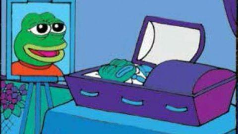 Meghalt Pepe, a világhírűvé lett béka