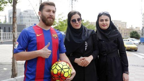 Forgalmi dugót okozott az ember, aki pontosan úgy néz ki, mint Lionel Messi