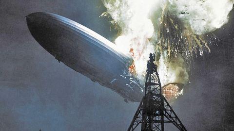 10 ritkán látott felvétel a Hindenburg léghajó 80 éve történt katasztrófájáról