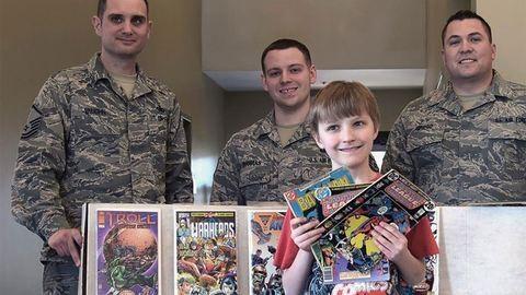 Meglepő adományt küldött a 10 éves fiú a katonáknak
