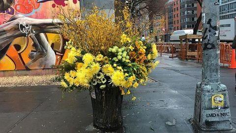 Valaki hatalmas vázáknak nézte a kukákat New Yorkban