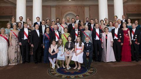 Ilyen fotó tízévente egyszer készül az európai királyi családokról