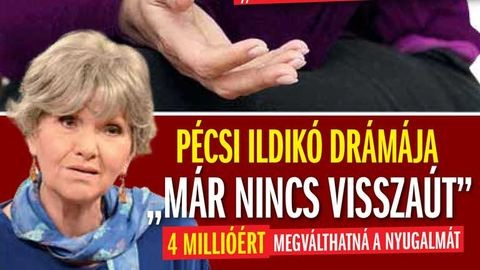 Pécsi Ildikó a Pártos Csillával folyó peréről: Nincs visszaút