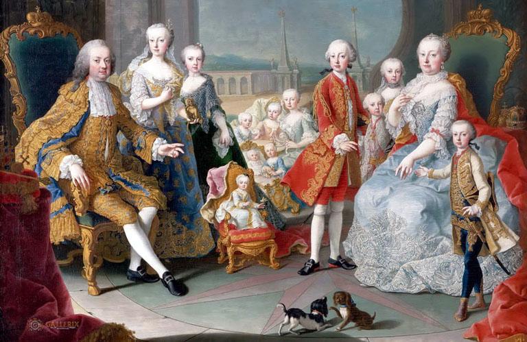 Lotaringiai Ferenc és Mária Terézia gyermekei