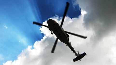 Rendőrségi helikopter zuhant le Eperjesen