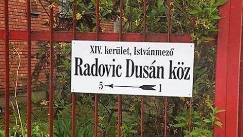 Utcát neveztek a halálra gázolt zuglói rendőrről