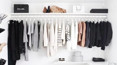 5 gardrób az Instagramról, ami láttán újra akarod rendezni a ruhatárad