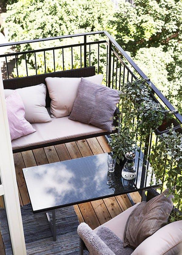 9 gyönyörűen berendezett apró erkély, amiből inspirációt meríthetsz