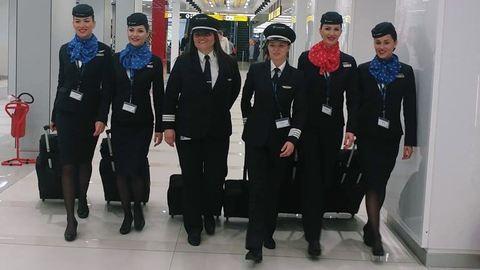 Történelmet írnak a szerb légitársaság pilótanői