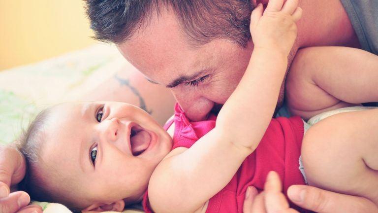 Az apák nagy hatással vannak a baba fejlődésére – oxfordi tanulmány