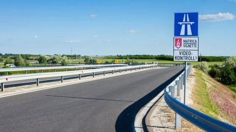 Több mint kétszázzal repesztett egy magyar a szlovák autópályán