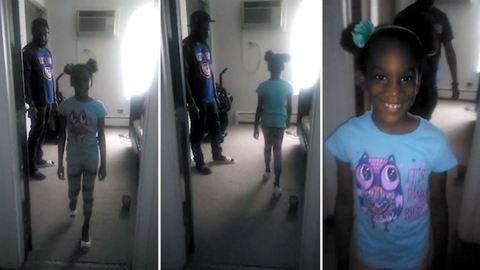 """""""Ez az apák dolga"""" – apuka tanítja kislányát arra, hogy járjon magassarkúban"""