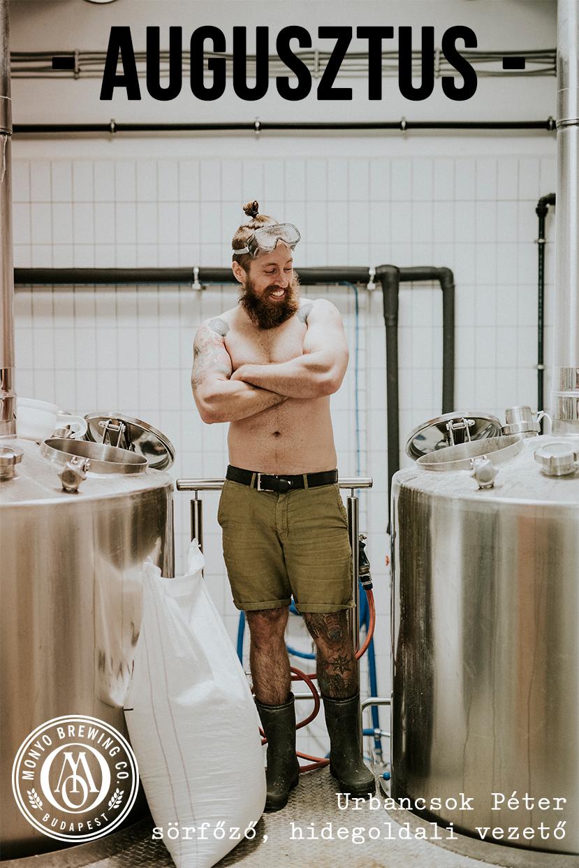 Egy sörfőző mester