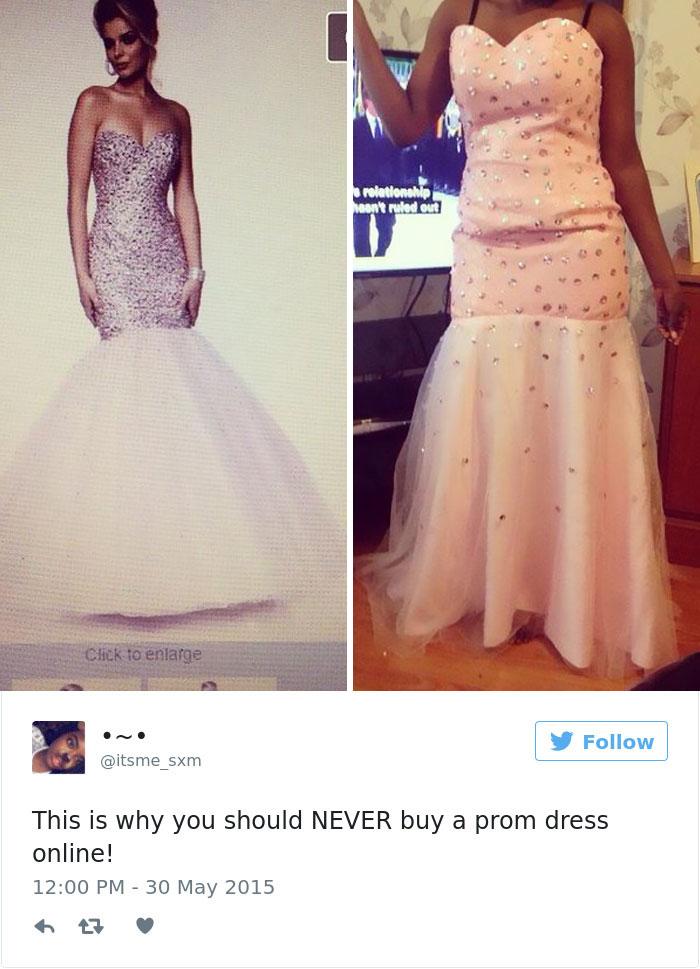Ezek a lányok már nagyon megbánták, hogy netről rendeltek szalagavató ruhát