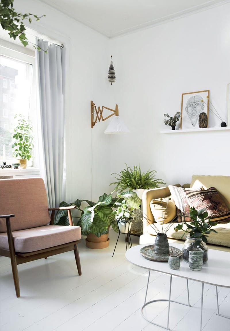 A bohém és a minimalista stílus keverdéséből lett a legújabb lakbertrend