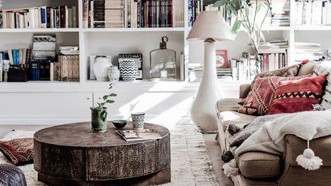 A bohém és a minimalista stílus keveredéséből lett a legújabb lakbertrend