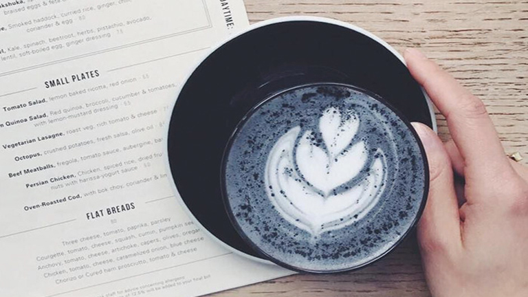 Kávé még sosem volt ennyire fekete