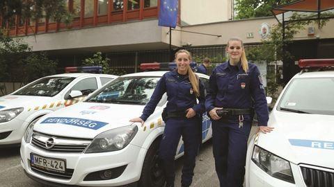 Ez a két hős magyar rendőrnő megmentett egy embert – fotó