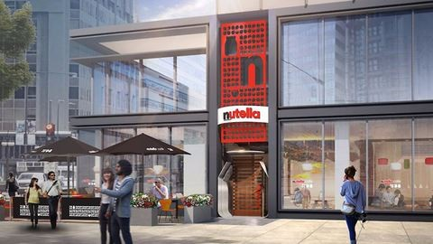 Megnyitja első hivatalos kávézóját a Nutella