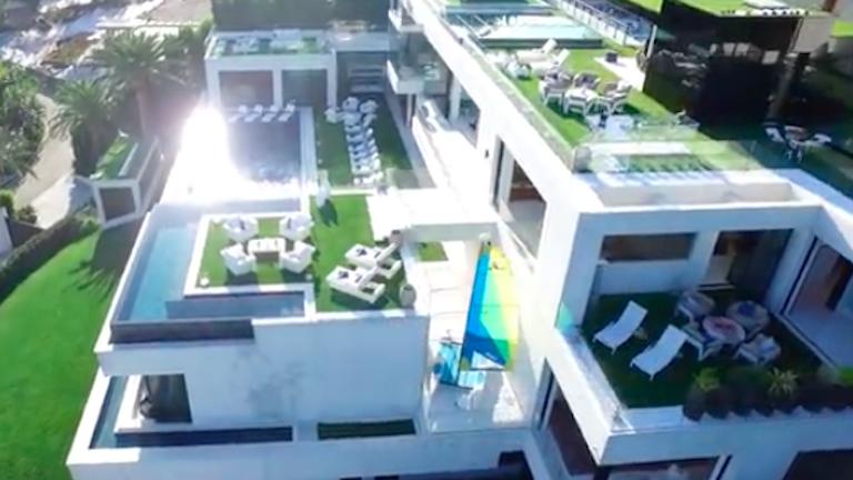 70 milliárd forint az USA legdrágább eladó háza - neked is látnod kell!