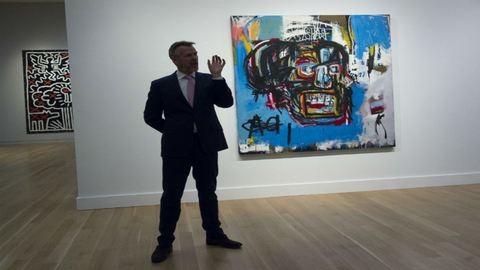 Rekordáron adták el a graffiti királyának portréját
