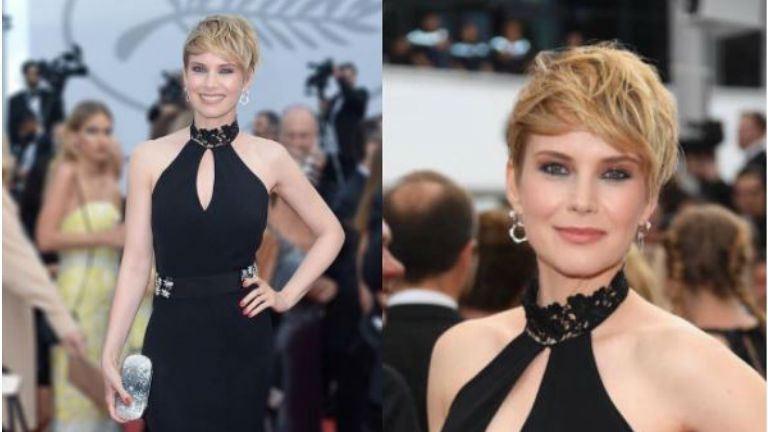 Osvárt Andrea pazar társaságba került Cannes-ban
