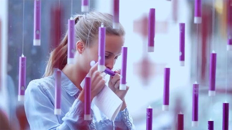 Az illatoknak köszönhetően azonnal erős érzelmi kapocs jön létre (Fotó: Thalys)