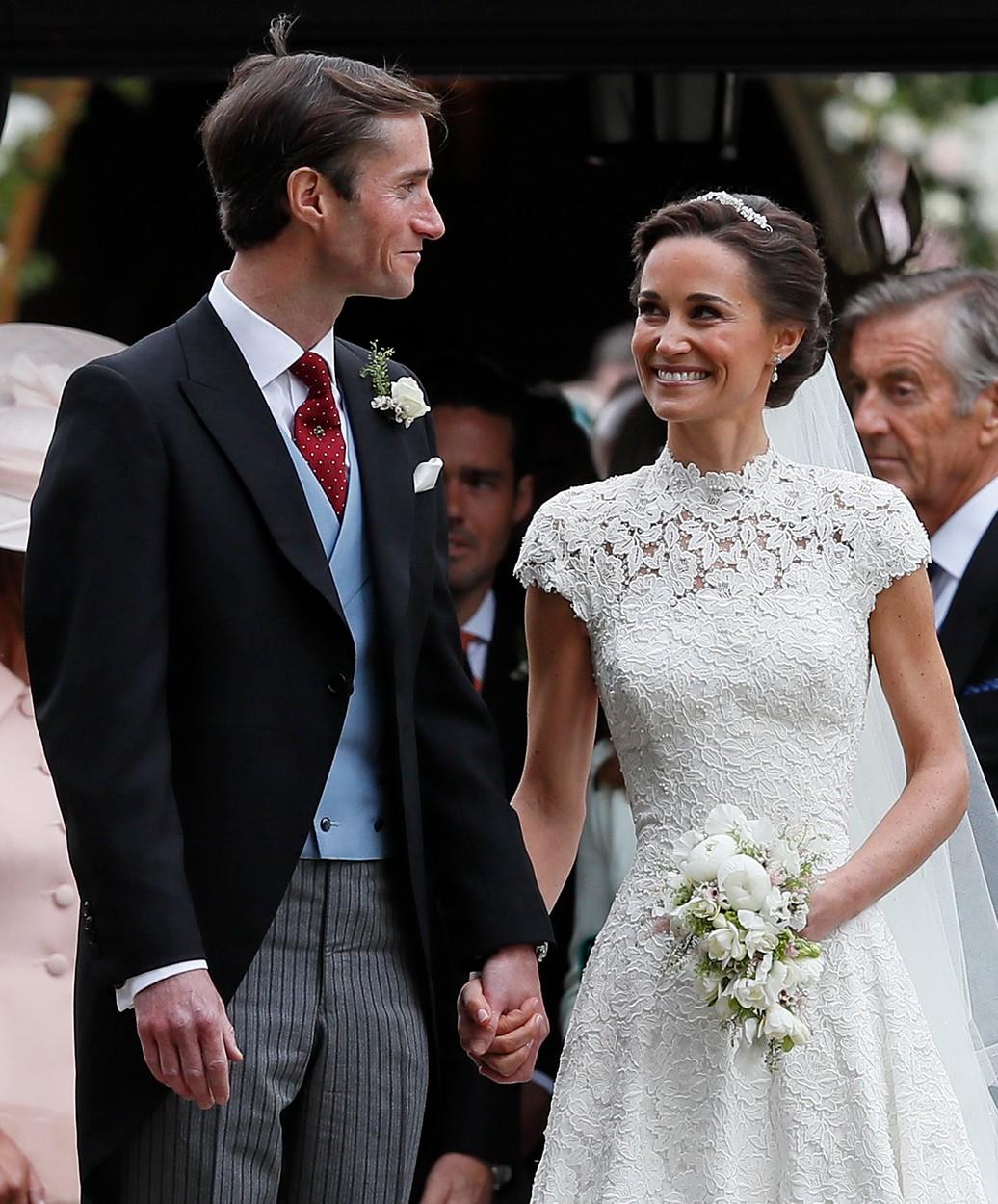Ilyen gyönyörű menyasszony volt Pippa Middleton - fotók