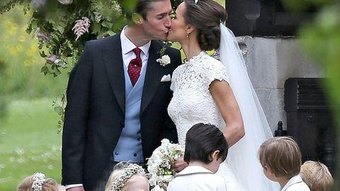 Ilyen gyönyörű menyasszony volt Pippa Middleton – fotók