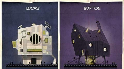 Így nézne ki a híres rendezők háza, ha olyan lenne, mint a filmjeik